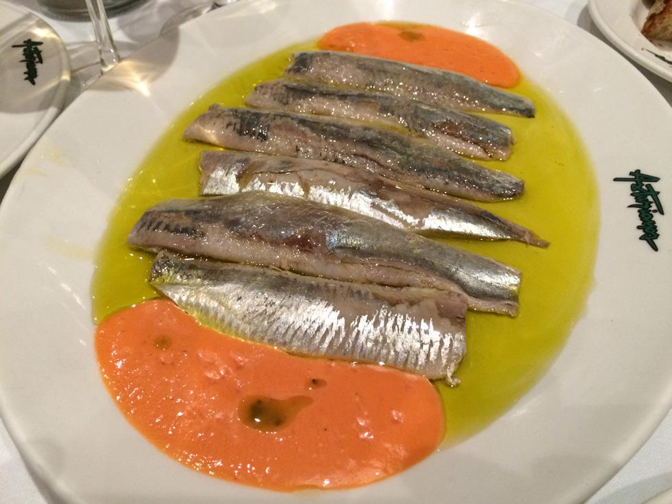 sardines Madrid